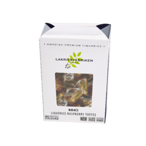 NH4CL Liquorice Raspberry Toffee