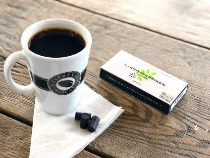Lakritsfabriken lanseras på alla Espresso House i Sverige!