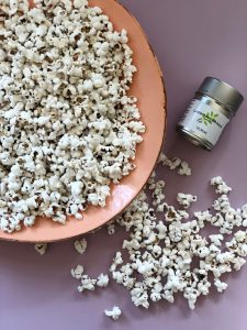 SALMIAK SALTY LICORICE POPCORN