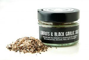 Lakritskocken - Lakrits & black garlic salt 75 g